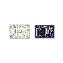 Assorted Happy Holidays Cards for Business, 50 Pack