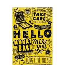 Flip Phone Hello Customer Winback Hallmark Card