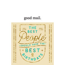 Best People Best Birthdays Business Hallmark Card