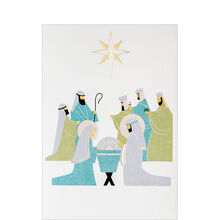 Nativity Christmas Business Hallmark Card