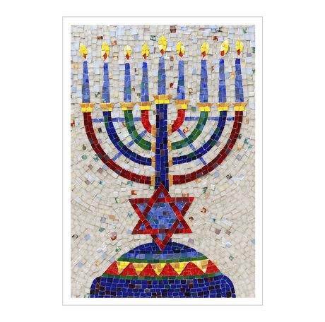Mosaic Menorah