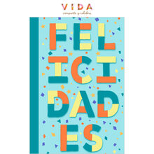 Colorful Congrats Spanish Business Hallmark Card
