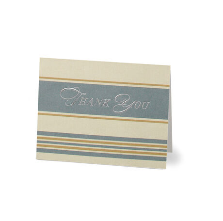 Fleur de Lis Thank You Note Card Pack