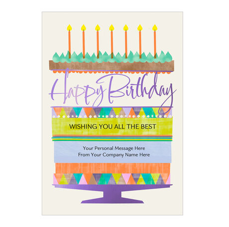 Business Birthday Cards Icing On The Cake Hallmark Business