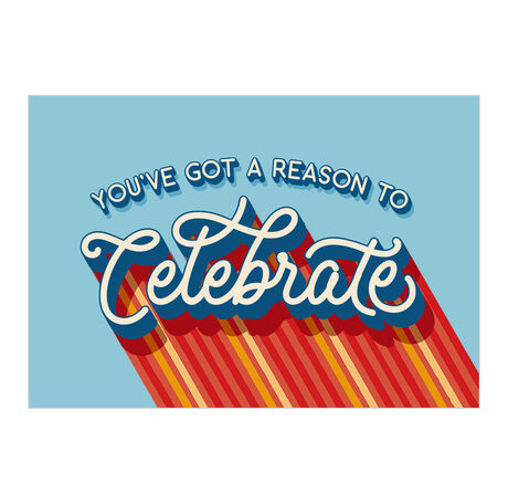 Congratulations Card (Reason to Celebrate) for Business