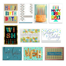 Assorted Birthday Cards for Business, 50 Pack
