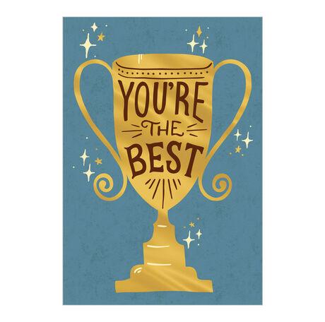 Best Trophy Employee Appreciation Hallmark Card
