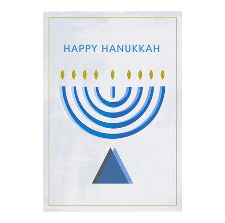 Hanukkah Classic Menorah