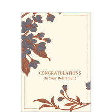 Copper on Cream Retirement Business Hallmark Card