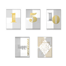 Assorted Work Anniversary Cards, 25 Pack