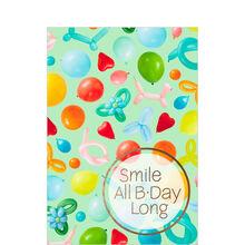 Balloon Animals Birthday Business Hallmark Card