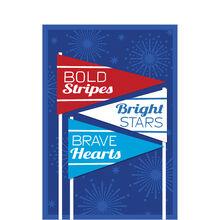 Bold Stripes, Bright Stars Military Appreciation Card