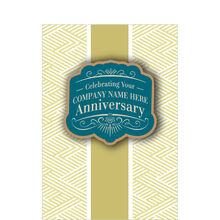 Workplace Anniversary Custom Cover Hallmark Card