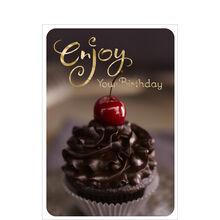 Enjoy Your Birthday Cupcake Business Hallmark Card