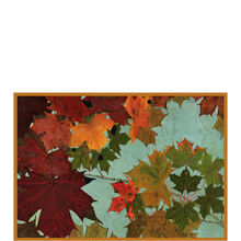 Autumn Leaves Thanksgiving Business Hallmark Card