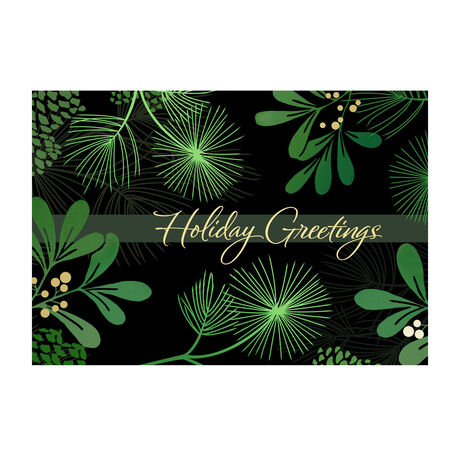Wintry Holiday Greeting