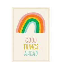 Encouragement Card (Good Things Ahead Rainbow) for Business