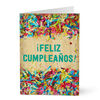 Birthday Confetti Spanish Business Hallmark Card