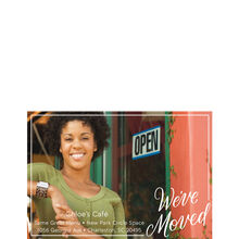 We've Moved Office Announcement Hallmark Full Photo Postcard