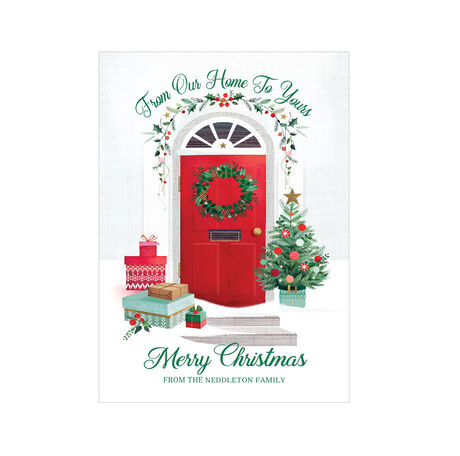 Our Home to Yours Design Your Own Hallmark Christmas Card