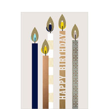 Birthday Card (Stylized Candles) for Business
