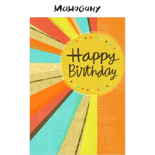 Sunny Happy Birthday Business Hallmark Card