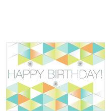 Birthday Dimensional Pattern