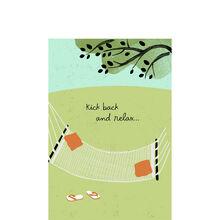 Hammock to Relax Birthday Business Hallmark Card
