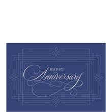 Silver and Blue Work Anniversary Hallmark Card