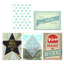 Assorted Star Qualities Employee Appreciation Cards, 25 Pack