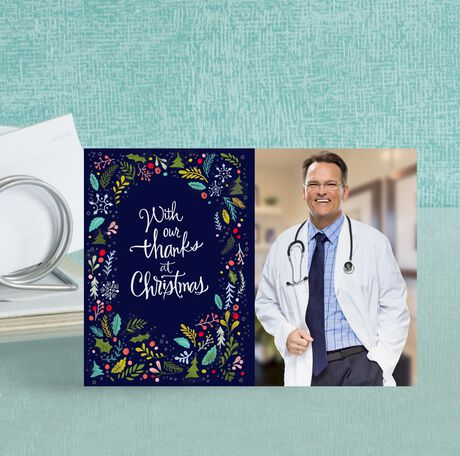 Photo Christmas Card (Thanks at Christmas) for Business