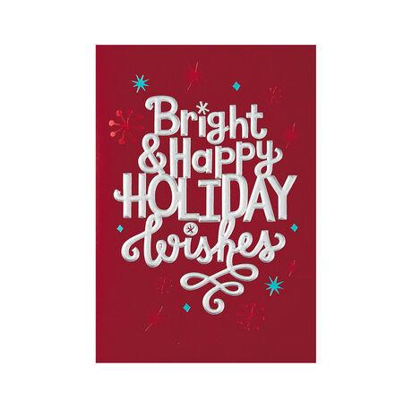 Bright, Happy Holiday
