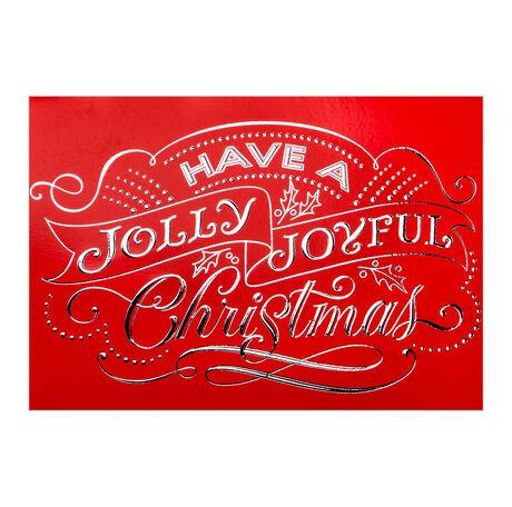Jolly, Joyful Christmas Business Hallmark Card