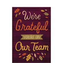 Grateful on Team Thanksgiving Card