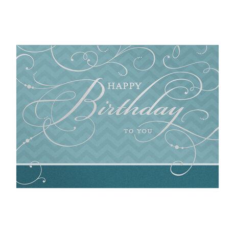 Elegant Birthday Cards For Business Employees Hallmark Business