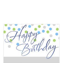 Business birthday cards corporate birthday cards hallmark birthday dots m4hsunfo