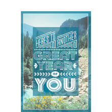 Another Great Year Nature Birthday Business Hallmark Card