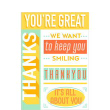 Keep You Smiling Customer Appreciation Hallmark Card