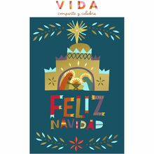 Christmas Nativity Spanish Business Hallmark Card