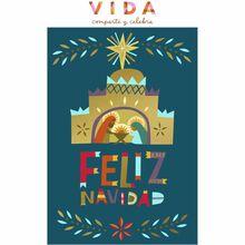 Christmas Nativity Spanish Business Hallmark Card