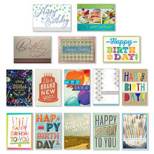 Business birthday cards corporate birthday cards hallmark value assorted birthday cards for business 150 pack colourmoves