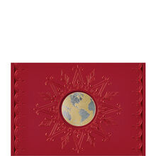 Embossed Globe Unfolder