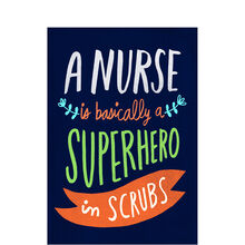 Superhero Nurse Appreciation Business Hallmark Card