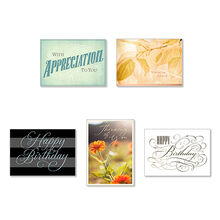 Assorted Cards for Business, All Occasions, 25 Pack