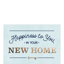 Happiness to You New Home Card for Realtors