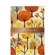 Autumn Illustration Business Thanksgiving Card