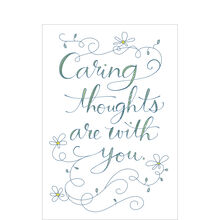 Caring Thoughts With You Business Hallmark Card