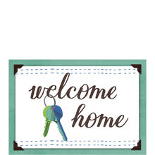 Welcome Home Keys Business New Home Hallmark Card