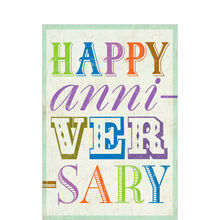 Upbeat Work Anniversary Business Hallmark Card