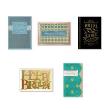 Premium Assorted Birthday Cards for Business, 25 Pack